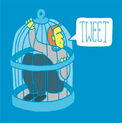 Twitter Bird Cage