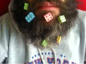 Block candy beard