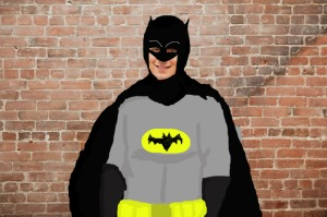 drew as batman