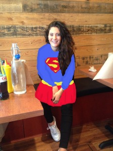 ghalia as super girl